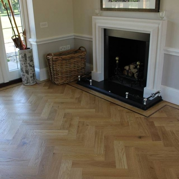 Engineered Clear Hard Wax Parquet