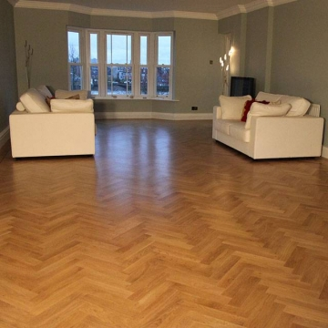 Solid Clear Hard Wax Parquet