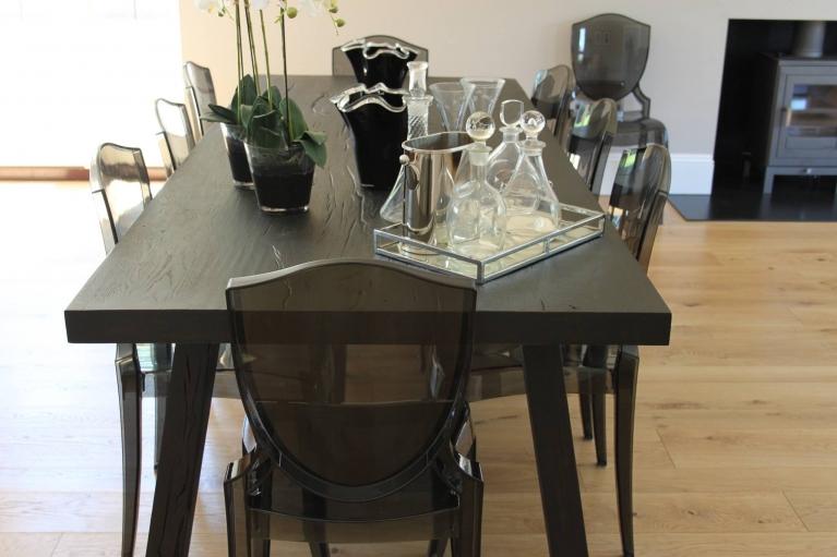 Natural Oak Dining room