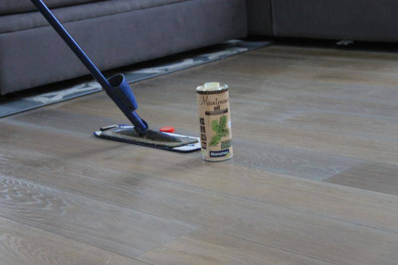 Cleaning your floor